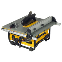 Heavy duty lightweight table saw DW745