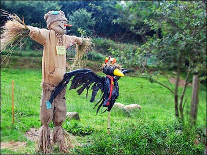 Пугало для птиц