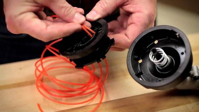 Как сделать катушку для триммера своими руками